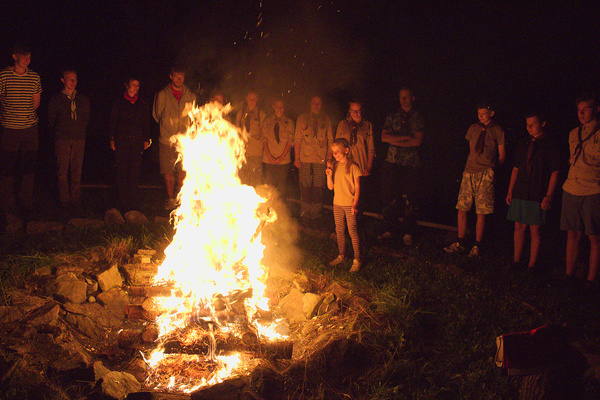oheň - slib